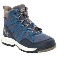 Jack wolfskin Buty trekkingowe dla dzieci thunderbolt texapore mid k blue / phantom - 29 (4060477351568)