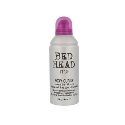 Tigi bed head foxy curls extreme curl mousse pianka do włosów 250 ml dla kobiet