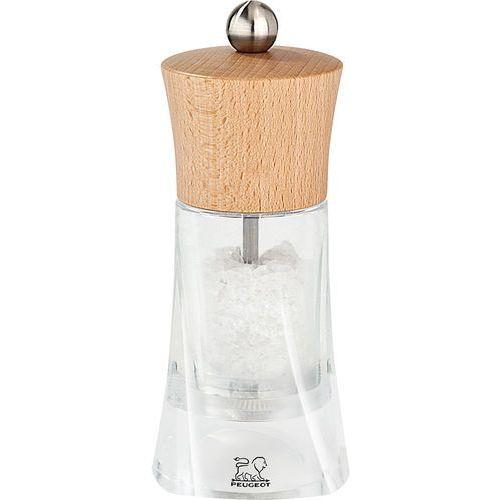 Peugeot Młynek do mokrej soli morskiej oleron akryl / drewno bukowe (pg-29920)