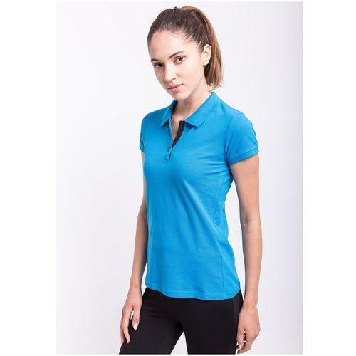 Koszulka polo damska tsd051z - niebieski jasny, 4f