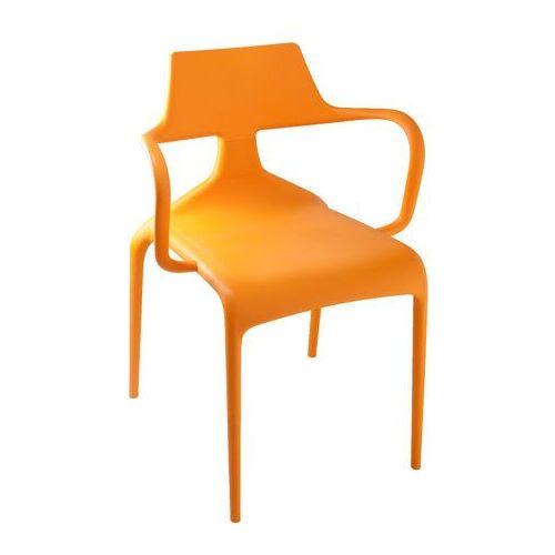 Green Krzesło shark pomarańczowe