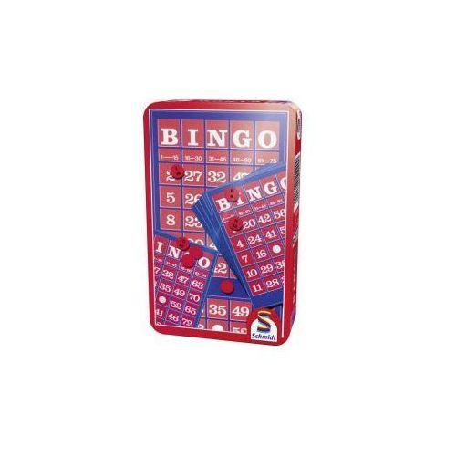 Schmidt spiele - gry Bingo (w metalowej puszce) - szybka wysyłka (od 49 zł gratis!) / odbiór: łomianki k. warszawy (4001504512200)