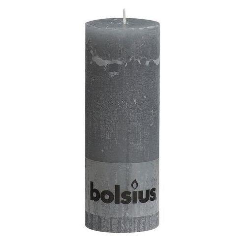 Bolsius Świeca pieńkowa rustic jasnoszara (8711711818946)