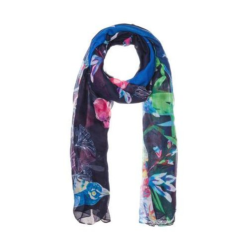 foulard birdpalm szal blue marki Desigual