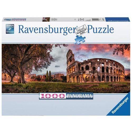 Ravensburger Puzzle 1000 koloseum panorama - . darmowa dostawa do kiosku ruchu od 24,99zł (4005556150779)