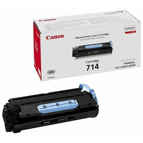 Canon Wyprzedaż oryginał toner crg714 do faxów l-3000/3000ip   5 000 str.   czarny black, pudełko otwarte