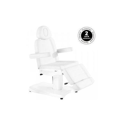 Vanity_a Fotel kosmetyczny elektr. azzurro 803a biały