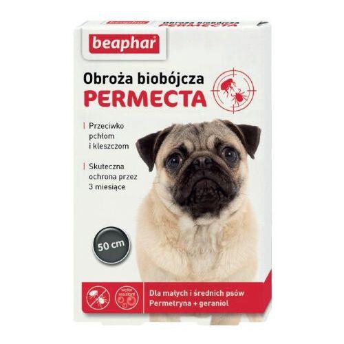 Beaphar Permecta obroża biobójcza dla małych i średnich psów 50 cm
