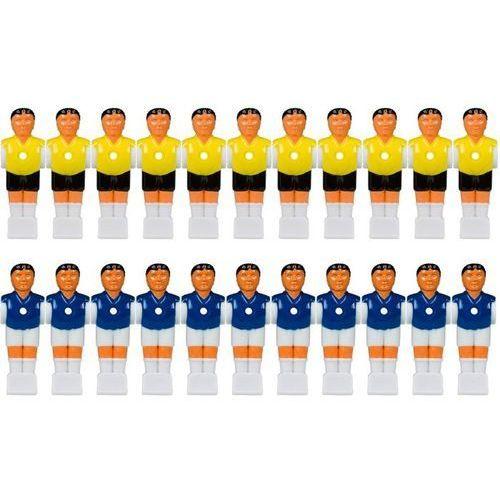 Tuniro ® 22 szt figurek piłkarzy postacie do piłkarzyków (20060051)