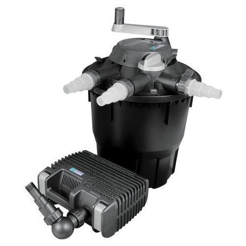 Zestaw filtrujący HOZELOCK Bioforce 12000 + Aquaforce 4000 Czarny