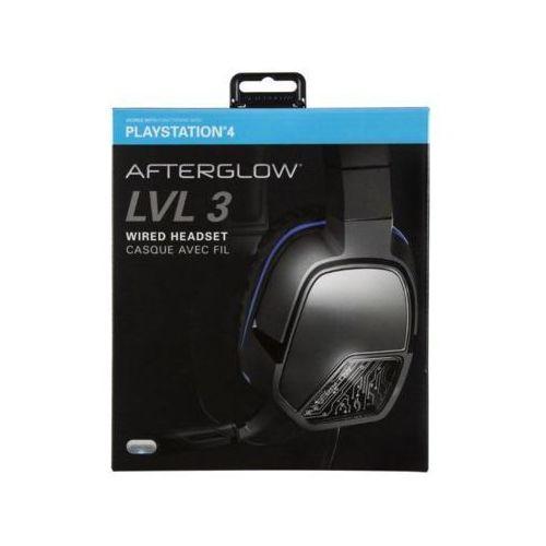 Zestaw słuchawkowy 051-032-EU Afterglow LVL 3 Stereo do PS4 (0708056057497)