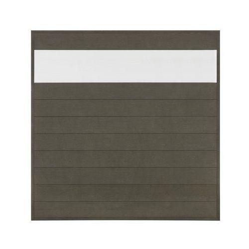Winfloor Płot kompozytowy 173x173 cm antracytowy wpc (5908443048311)