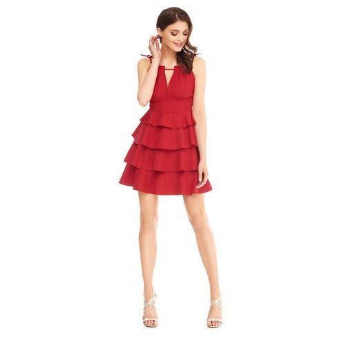 Sukienka Faith w kolorze czerwonym, kolor czerwony
