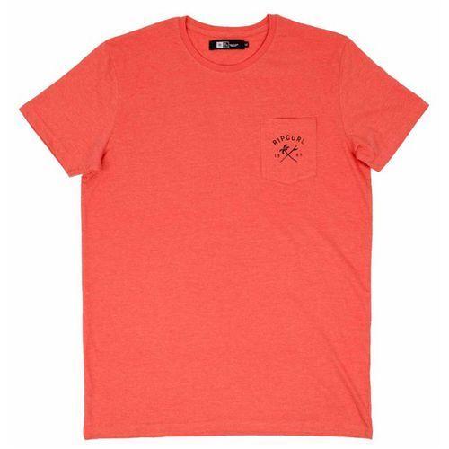 koszulka RIP CURL - Zinc Pocket Hot Coral Marle (8524) rozmiar: S