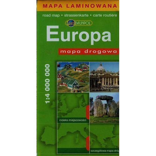 Europa. Mapa Drogowa W Skali 1:4 000 000, książka w oprawie miękkej