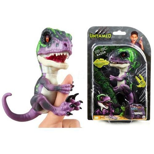 Fingerlings Untamed Razor Dinozaur 3784 WowWee