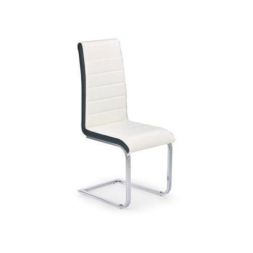 Nowoczesne krzesło K132 biel / Gwarancja 24m / NAJTAŃSZA WYSYŁKA!, OPT15704