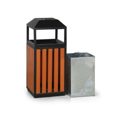 Kosz na śmieci z popielniczką, zewnętrzny marki B2b partner