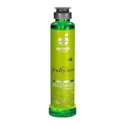 Owocowy olejek do masażu - kaktus limonka 200 ml marki Swede