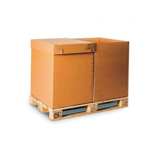 B2b partner Karton paletowy, tektura 5-warstwowa, 800x600x800 mm