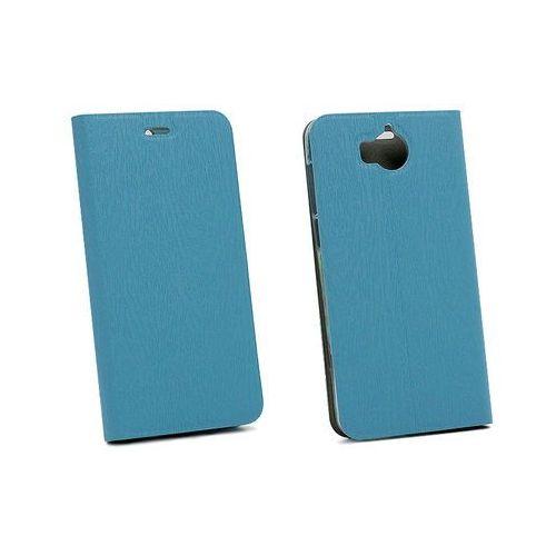 Huawei y6 (2017) - etui na telefon flex book - niebieski marki Etuo flex book