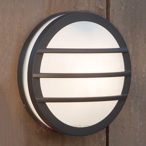 Eco-light Lampa ścienna zewnętrzna 3361 gr, 1x23 w, e27, ip54, (Ø) 26 cm (4250294302878)
