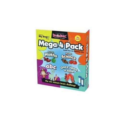 Brainbox Mega 4 Pack. Gra Planszowa. Wersja Angielska