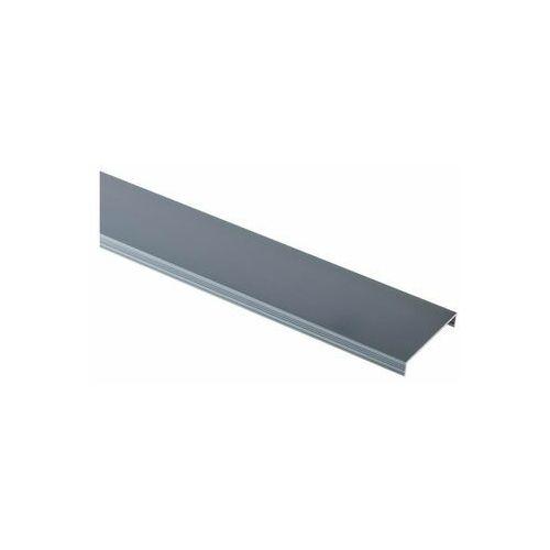 Profil wykończeniowy ozdobny Aluminium U 45 X 7.3 mm / 2.5 m Lux opal elpo Cezar