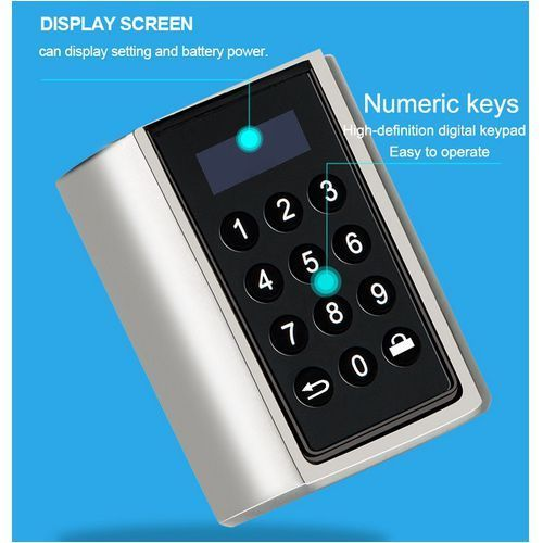 Zamek elektroniczny do apartamentu pod wynajem - jednorazowy kod otwarcia L6PCB(NB)