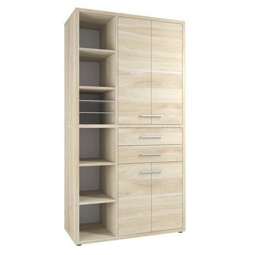 Regał biurowy set+ 216x117 cm, naturalny, mdf, 16885524 marki Maja-möbel