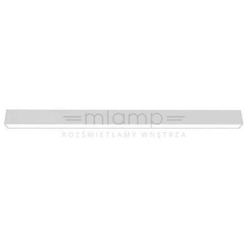 Sufitowa lampa nastropowa 60.80 on 120 w soft 27.1104.c16.kolor belka oprawa prostokątna led 50,4w przesłona mleczna marki Chors