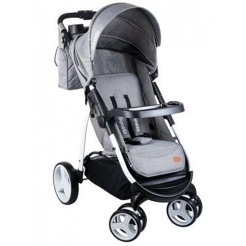 wózek spacerowy elise grey - darmowa dostawa!!! marki Lionelo