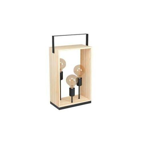 Eglo Famborough 43416 lampa stołowa lampka 3x40W E27 drewno (9002759434168)