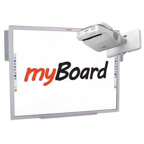 Zestaw interaktywny silver lux 5 marki Myboard