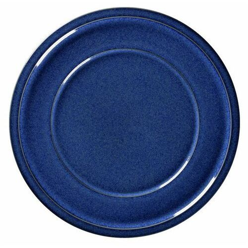 Rak Talerz porcelanowy płytki stone śr. 24 cm niebieski