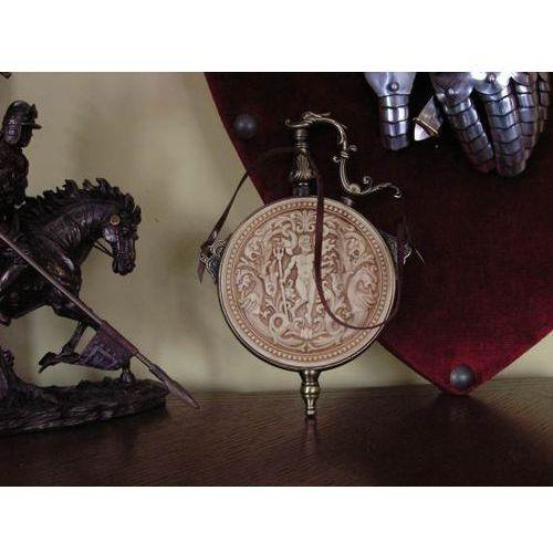Grawerowana prochownica historyczna (k845m) marki Hiszpania