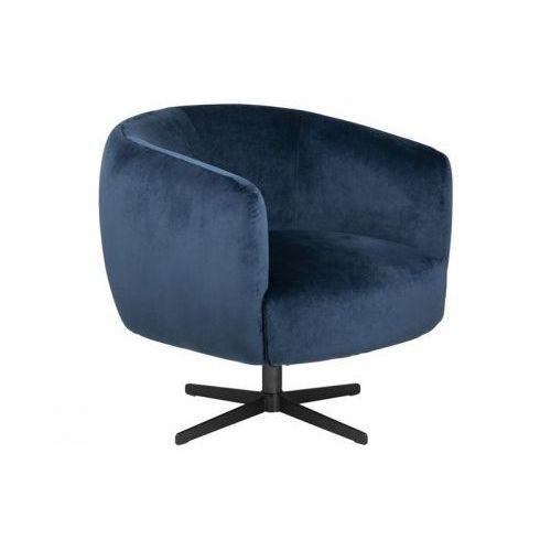 D2 Fotel obrotowy auburn vic ciemny niebieski