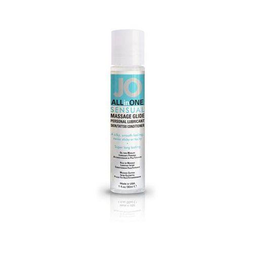Żel do masażu i lubrykant - system massage glide unscented 30 ml bez zapachu marki Jo