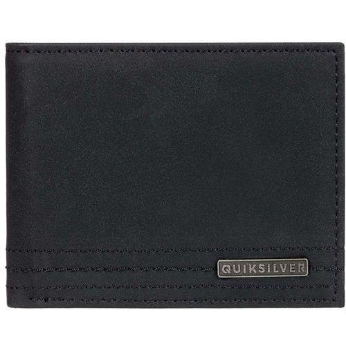 portfel QUIKSILVER - Stitchy Wallet Vi Black Black (KVJ0) rozmiar: L