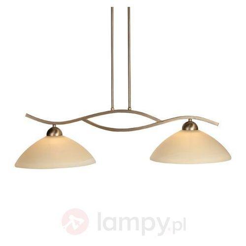 capri lampa wisząca brązowy, 2-punktowe - nowoczesny - obszar wewnętrzny - capri - czas dostawy: od 4-8 dni roboczych marki Steinhauer