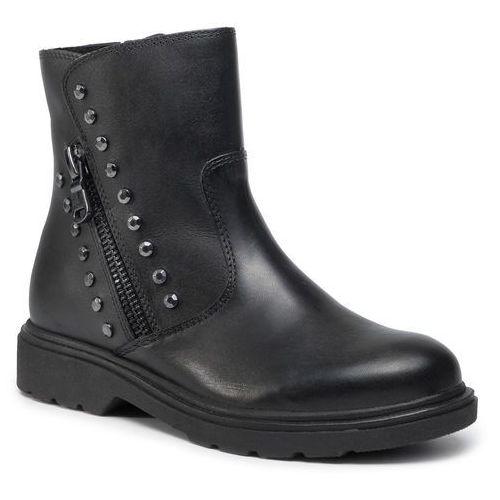 Botki - 2-25805-23 black antic 002, Marco tozzi, 36-41
