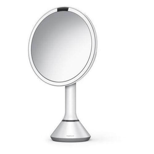 Lusterko sensorowe podświetlane z regulacją jasności Simplehuman 5x białe, kolor biały