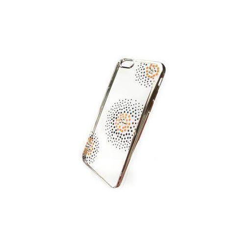 Obudowa dla telefonów komórkowych Beeyo Flower Dots pro Apple iPhone 6/6s (BEAAPIP6TPUFLSI) Srebrny, kolor szary