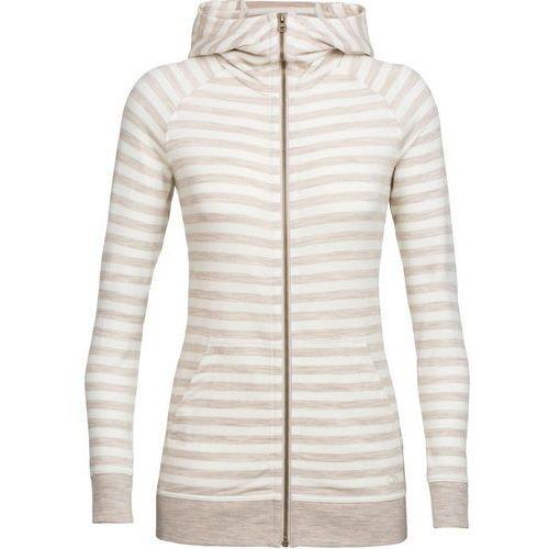 crush kurtka kobiety beżowy m 2018 kurtki wełniane marki Icebreaker