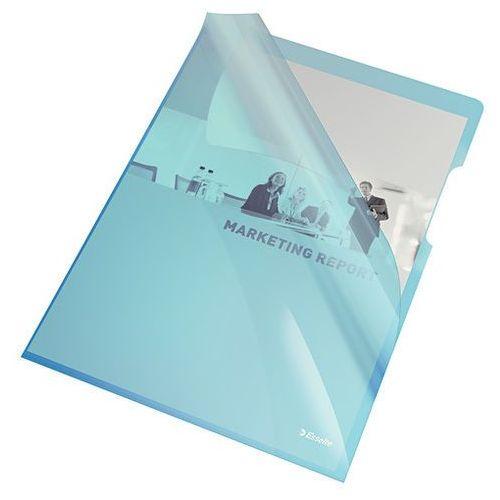 Ofertówka krystaliczna Esselte niebieska A4 150mic. 25szt.