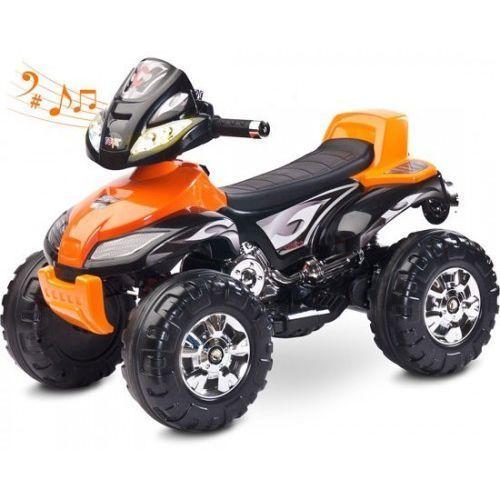 Caretero pojazd na akumulator cuatro orange toyz-7054