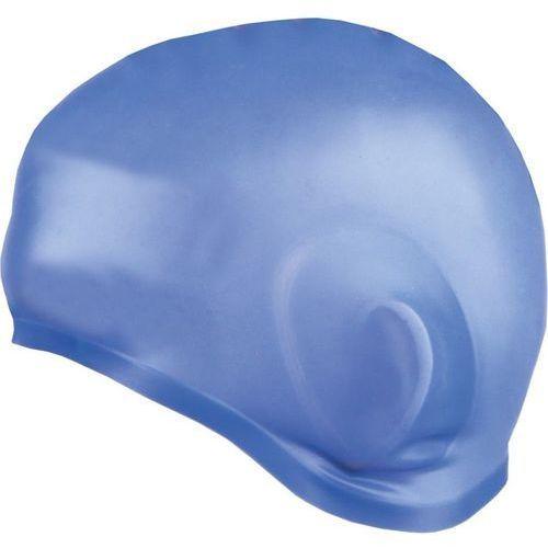 Spokey Czepek silikon-z uchem earcap 837423 niebieski