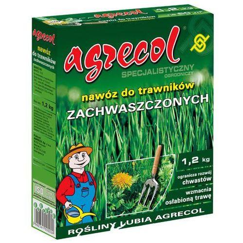 Agrecol Nawóz do trawników zachwaszczonych 1,2 kg (5902341002024)