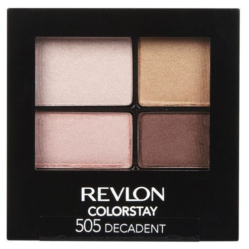 _colorstay 16 hour eye shadow quad poczwórne cienie do powiek 505 decadent 4,8g od producenta Revlon