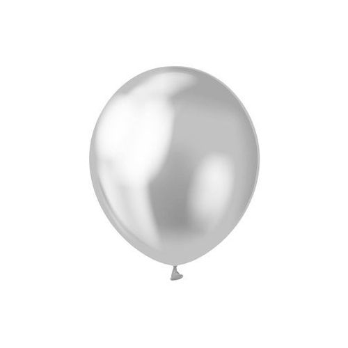 Beauty & charm Balony lateksowe platynowe srebrne - 30 cm - 7 szt. (5902973127799)